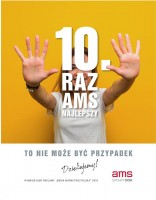 10TH WIN OF AMS IN THE RANKING OF ADVERTISING BROKERS OF MEDIA&MARKETING POLSKA; SPECIAL MENTIONS FOR GAZETA WYBORCZA AND TANDEM MEDIA