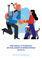 GAZETA WYBORCZA JOINED #VOTE4FRIENDSHIP AND ENCOURAGED VOTING IN ELECTIONS FOR THE EUROPEAN PARLIAMENT